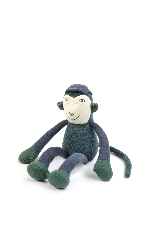 Smallstuff - Monkey Simon - Blue/ Green