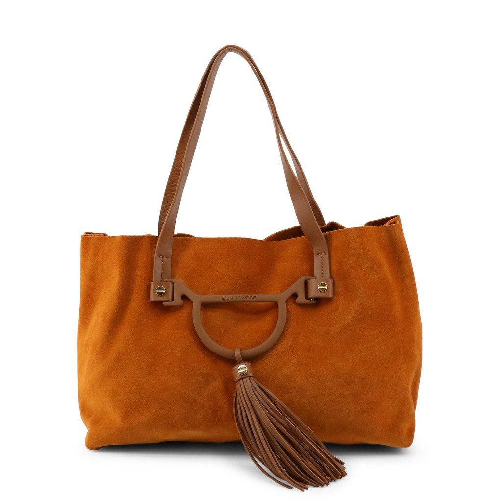 Borbonese Women's Shoulder Bag Various Colours 954753-J25 - brown NOSIZE