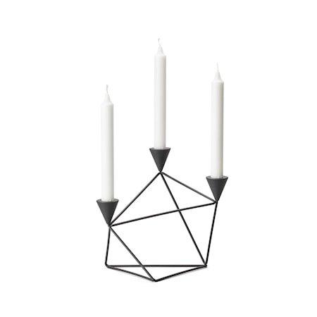 Pythagoras Lysestake Svart