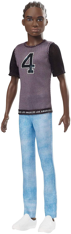 Barbie - Ken Doll -Fashionista Afro Americaner (GDV13 )