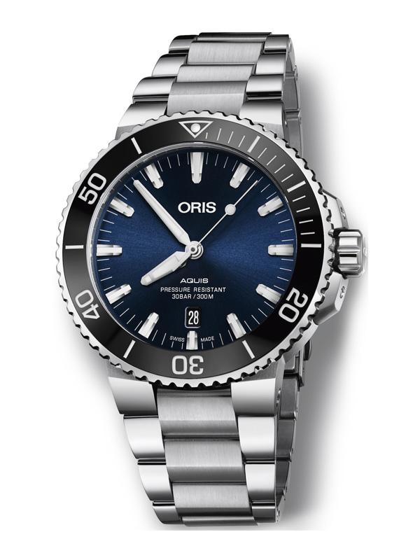 ORIS Aquis Date 43,5mm 733-7730-4135-07-8-24-05PEB