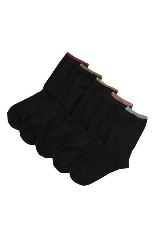 Cellbes Socka 5-Pack Svart