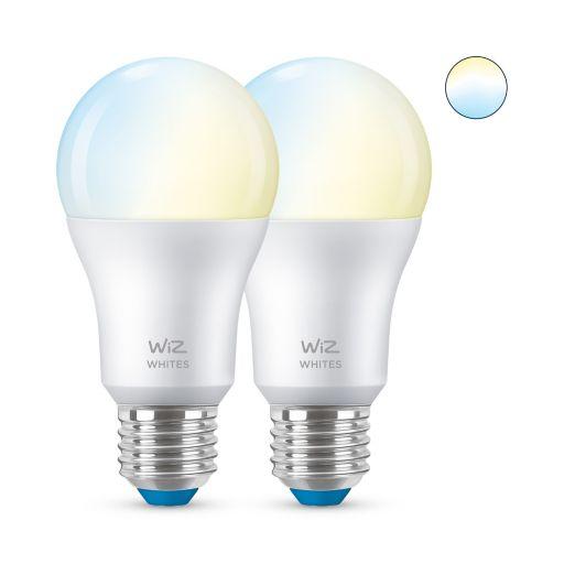 WiZ - E27 Tunable White LED pære - WiFi - 2 Pack