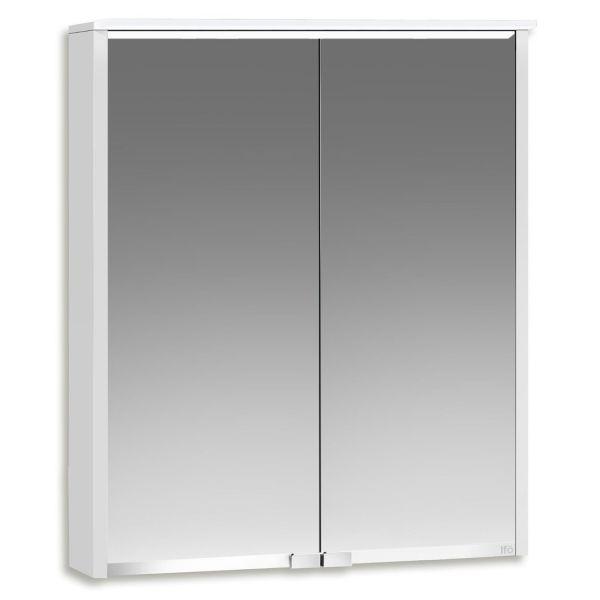 Ifö Option Bas 50 Kylpyhuonekaappi valkoinen, peili ja valaistus 500 mm