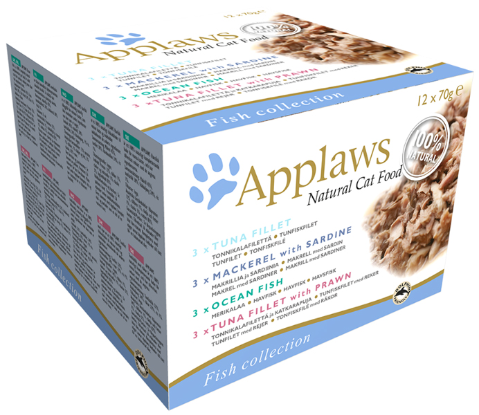Applaws collection fish 12 x 70g