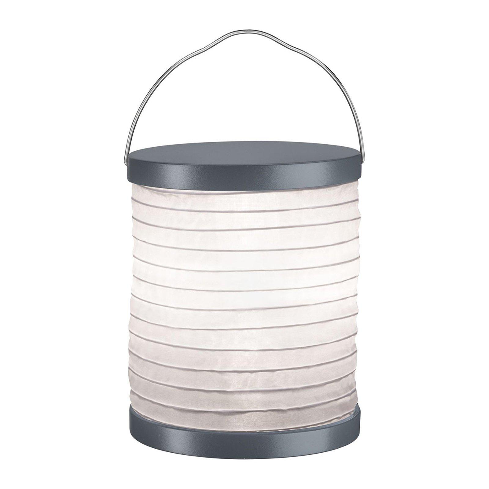 Paulmann Mobile Lampion bordlampe grå