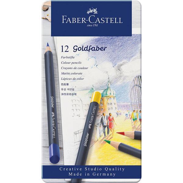 Goldfaber Aqua Watercolour Pencils Tin 12