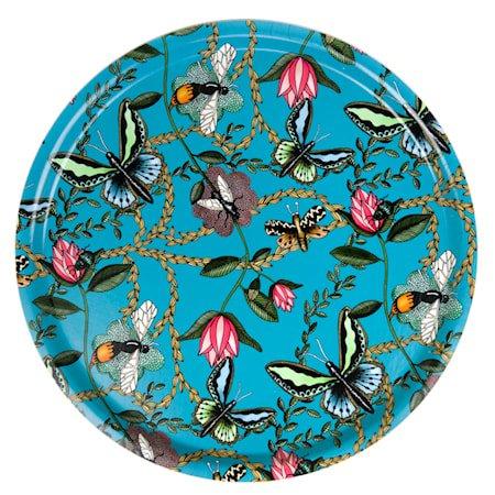 Nadja Wedin Design Brett 65 cm Bugs & Butterflies Turkis