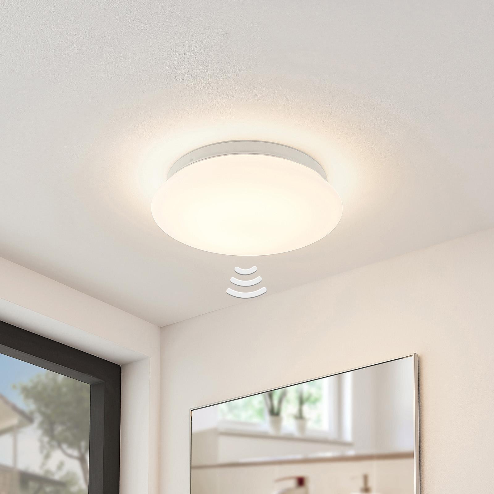 Arcchio Solomia -LED-kattovalo, anturi, 3 000 K