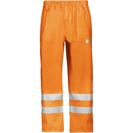 Snickers 8243 Sadehousut Hi-Vis, oranssi