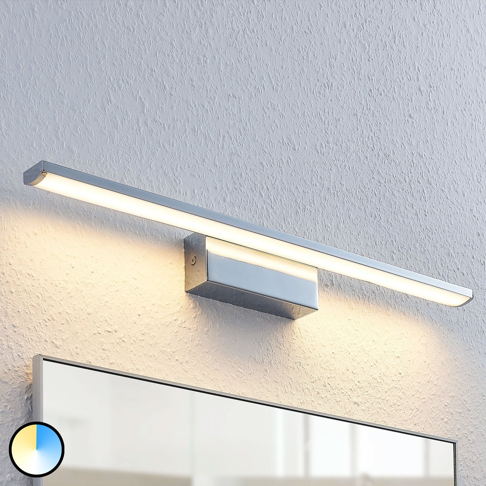 LED-vegglampe Tyrion til badet, 60 cm