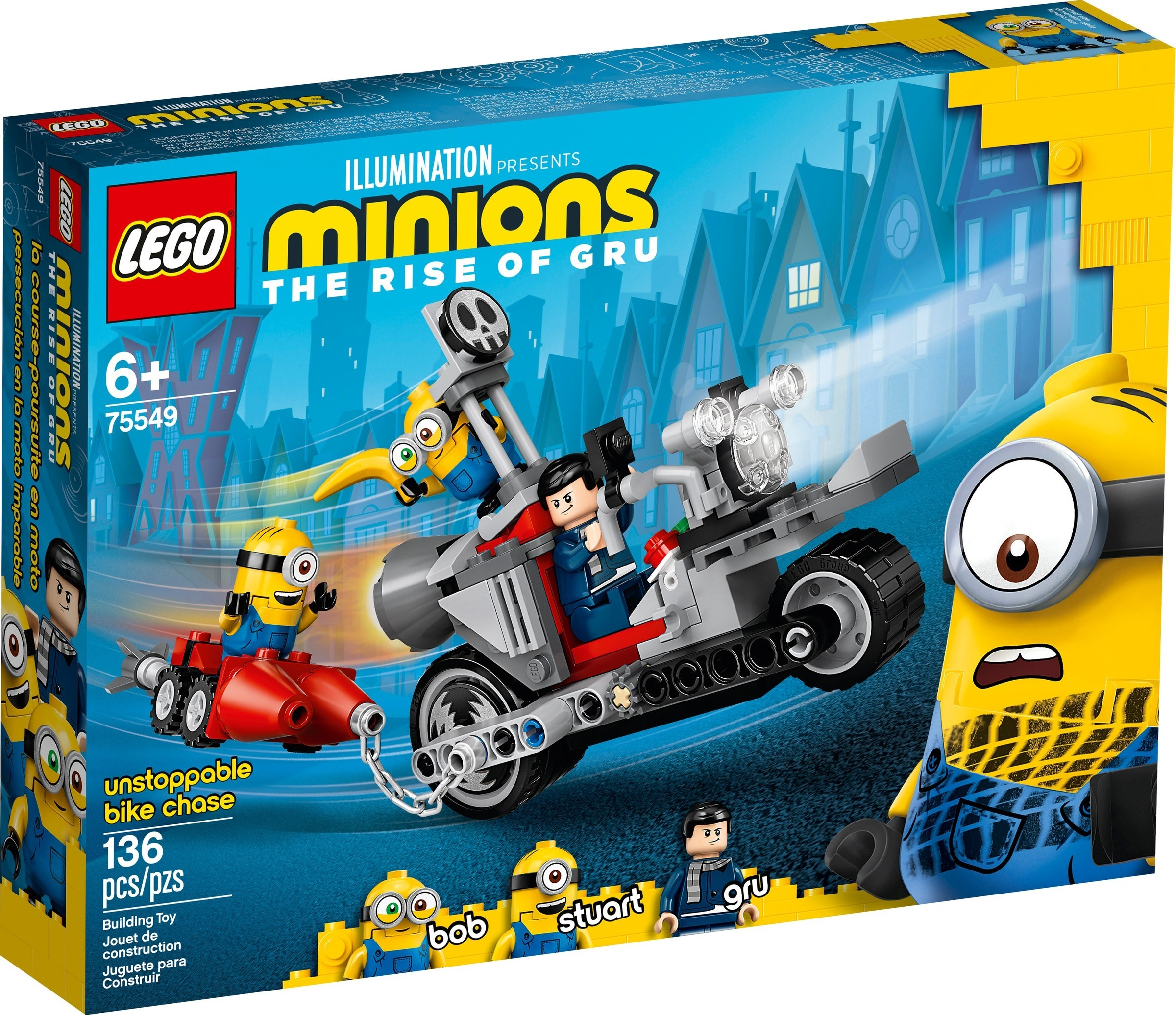 LEGO Minions - Unstoppable Bike Chase (75549)