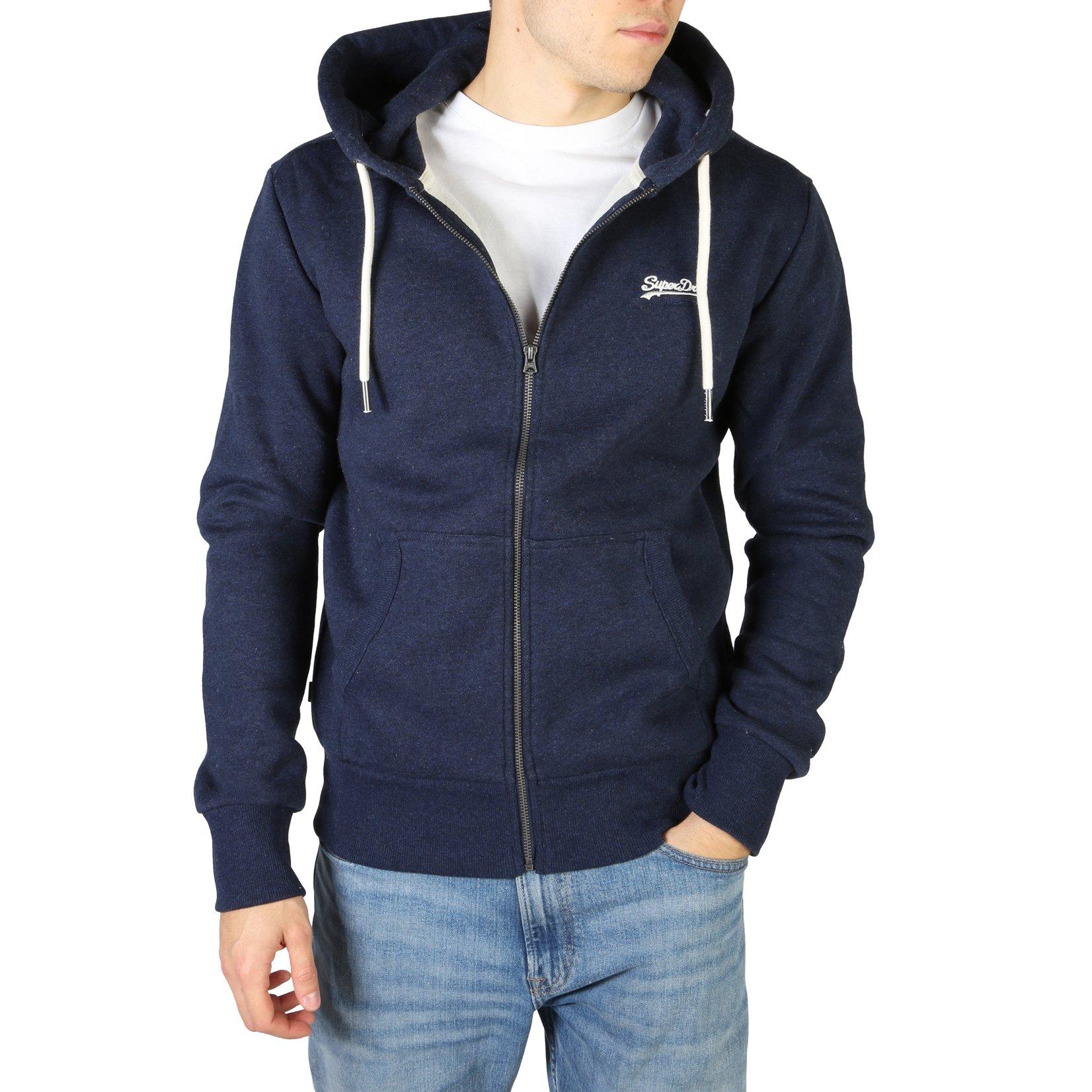 Superdry Men's Sweatshirt Various Colours M2010227A - blue S