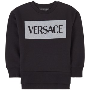 Versace Logo Sweatshirt Svart 4 år