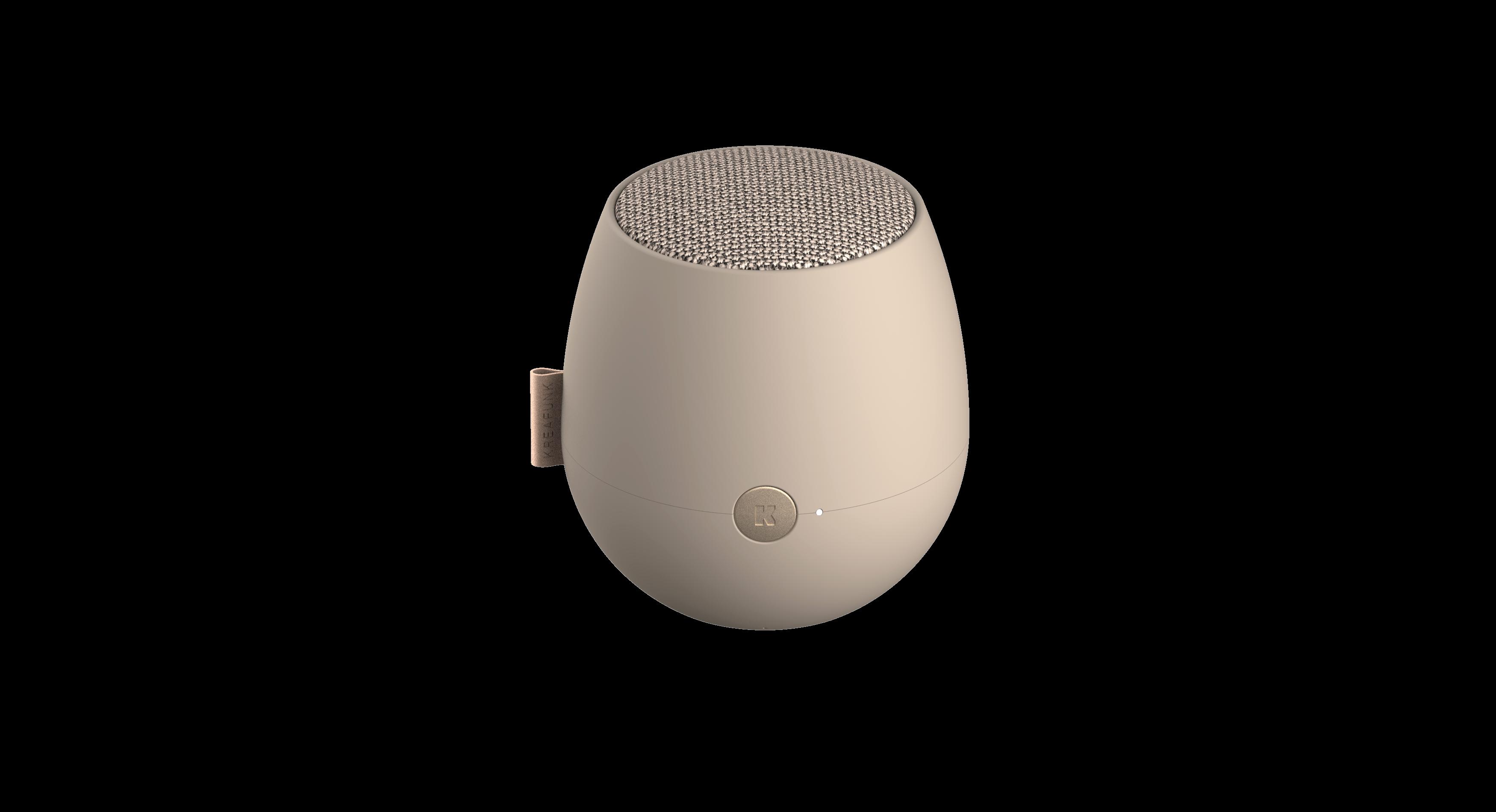 Kreafunk - aJAZZ Bluetooth Speaker - Ivory Sand (KFWT69)