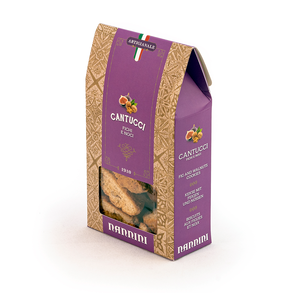 Cantuccini with Figs & Nuts 200g by Nannini