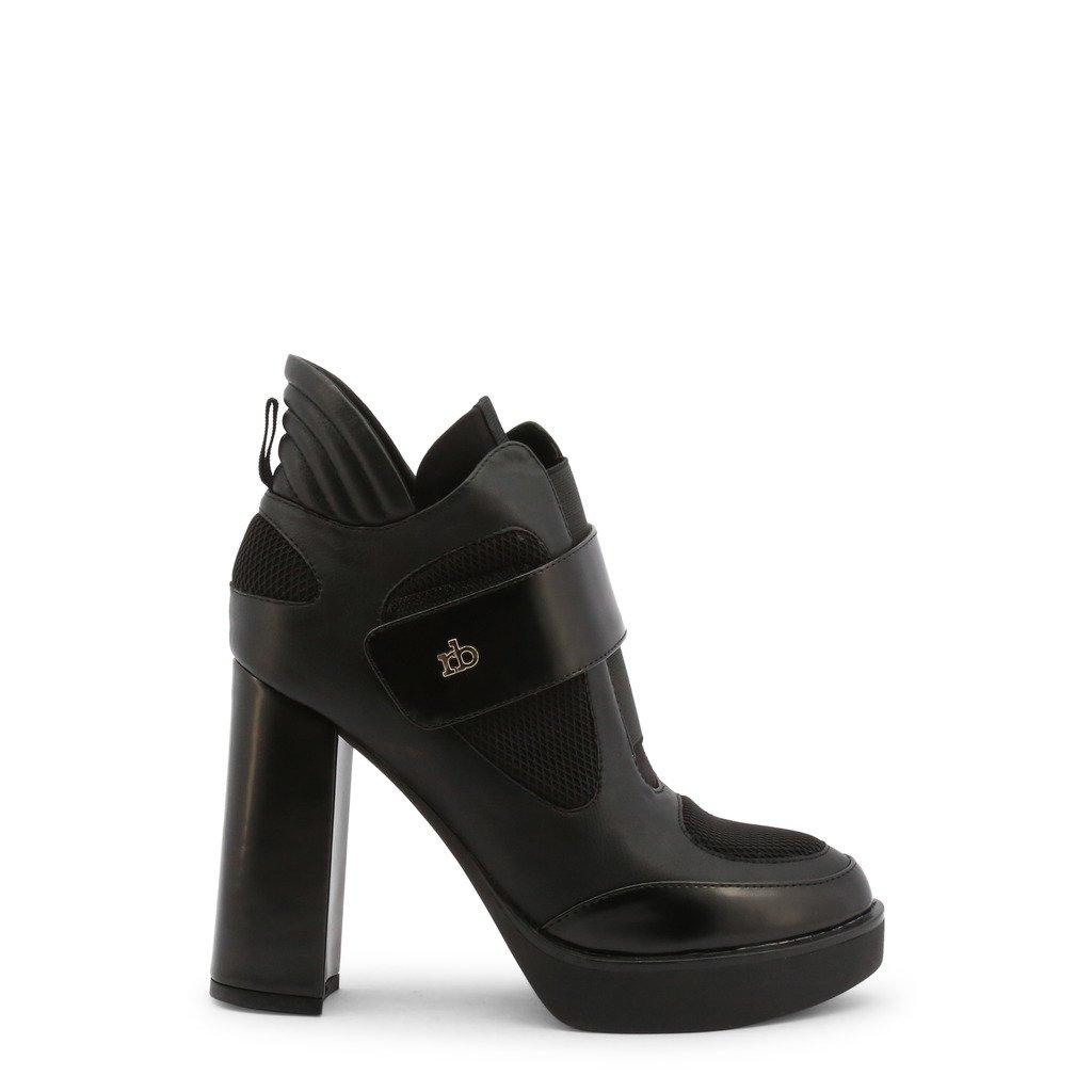 Roccobarocco Women's Ankle Boots Black 342960 - black EU 37