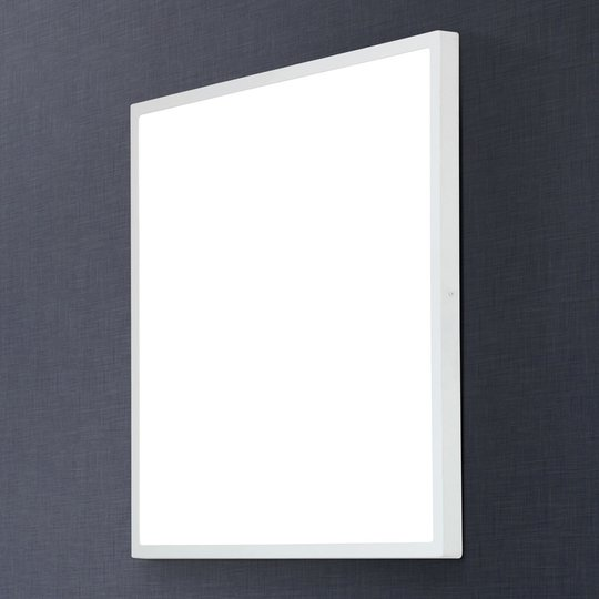 Kulmikas LED-kattovalaisin Lero 60 x 60 cm