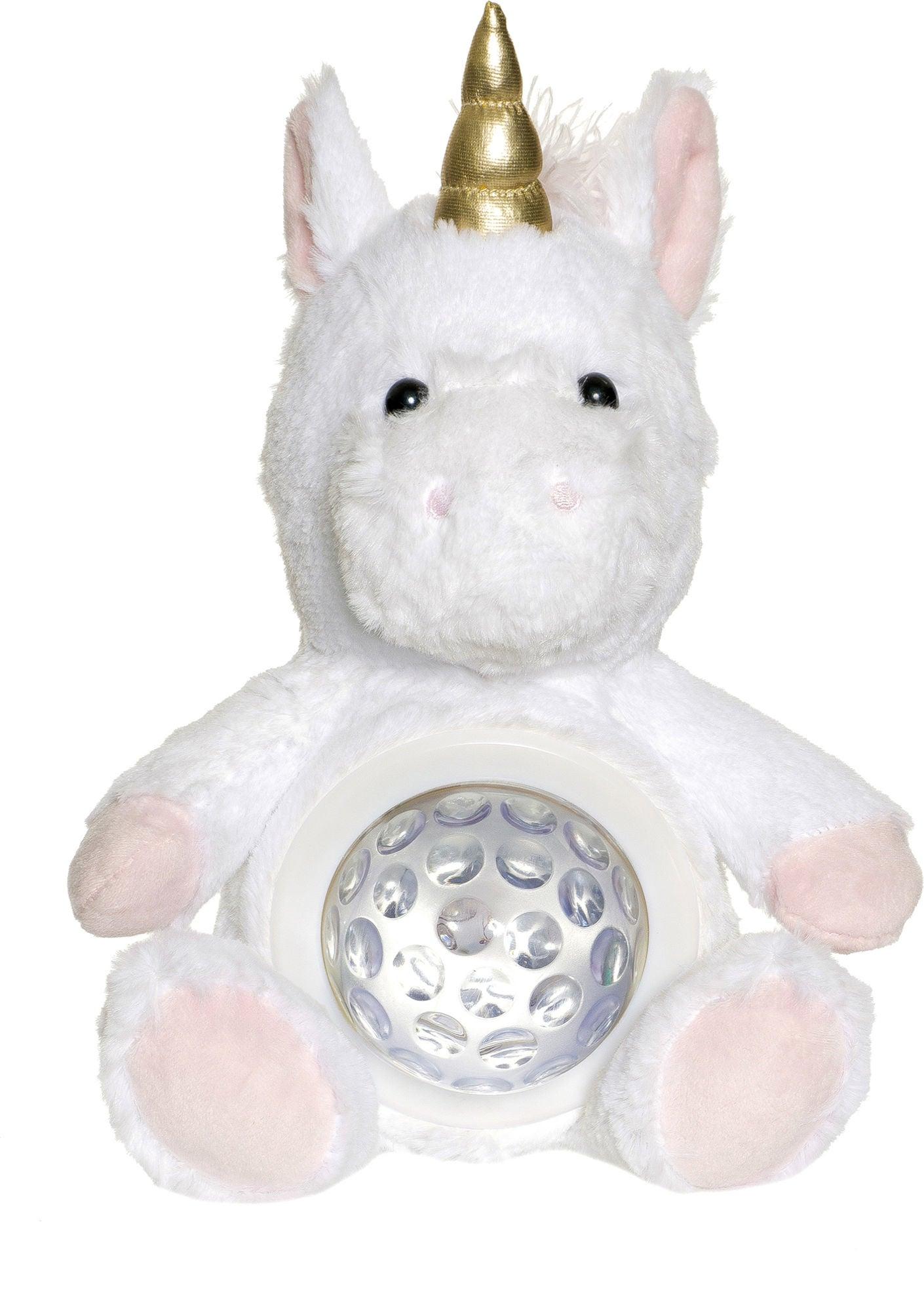 Teddykompaniet Teddy Lights Yövalo Yksisarvinen