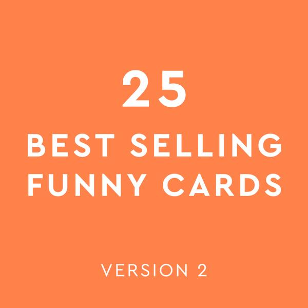 Best Selling Mix - Funny Cards Version 2