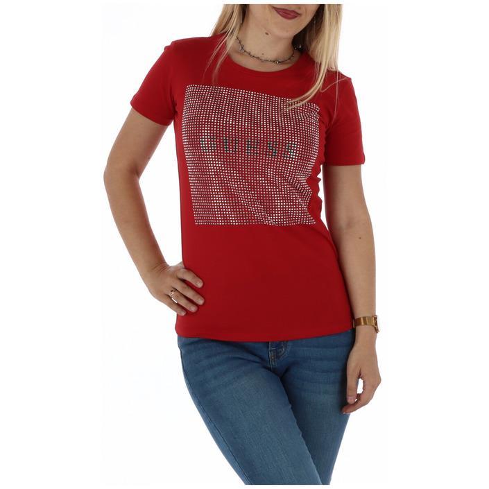 Guess Women's T-Shirt Red 301055 - red XS