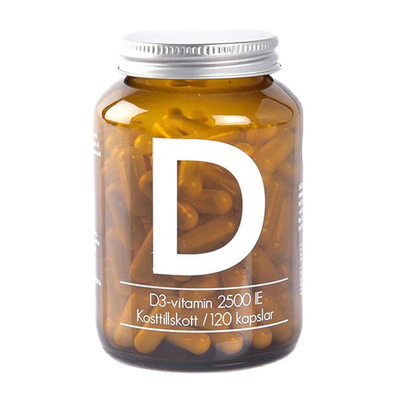 Ravintolisä D3-vitamiini 120 kpl - 33% alennus