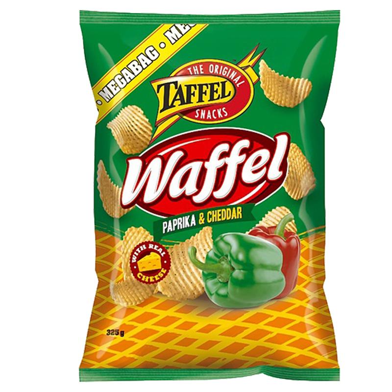 Taffel Waffel Paprika & Cheddar - 35% alennus