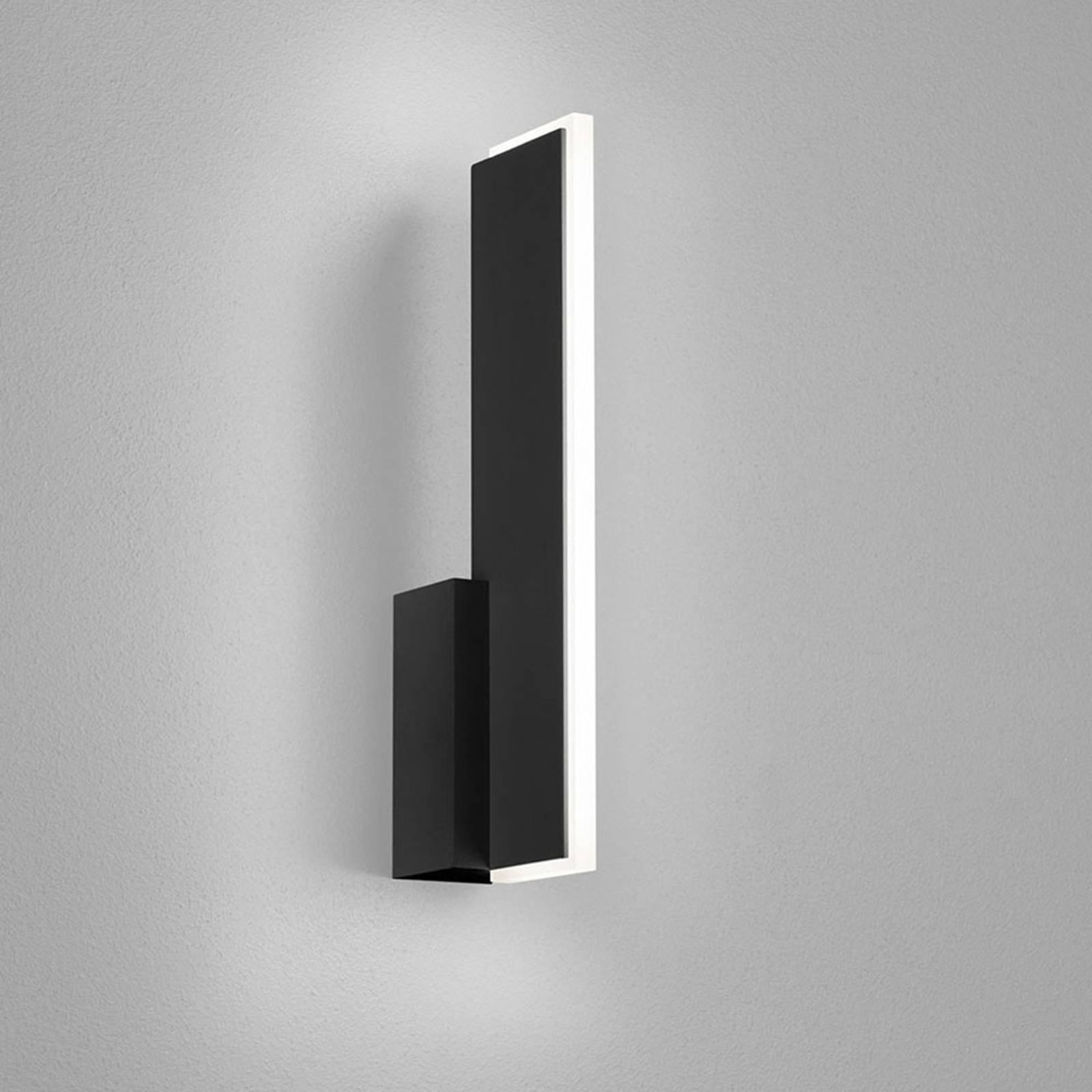 Helestra Sancho LED-vegglampe, matt svart