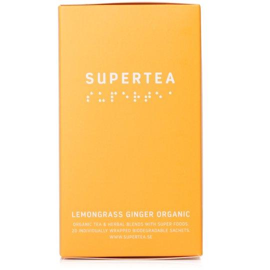 Teministeriet Supertea Lemongrass Ginger Organic te