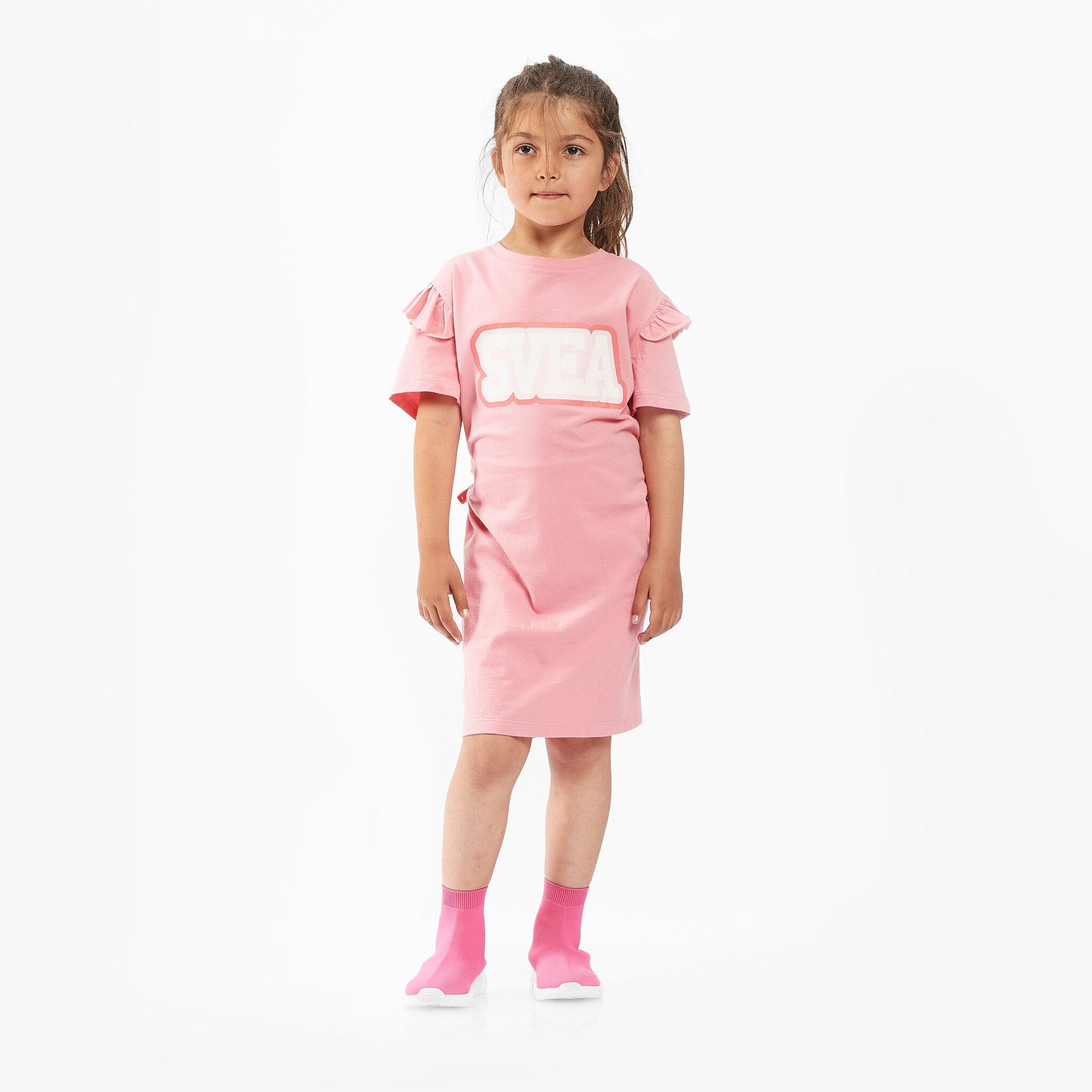 K. Frill Tee Dress
