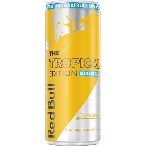 Red Bull Tropical Sockerfri 25cl