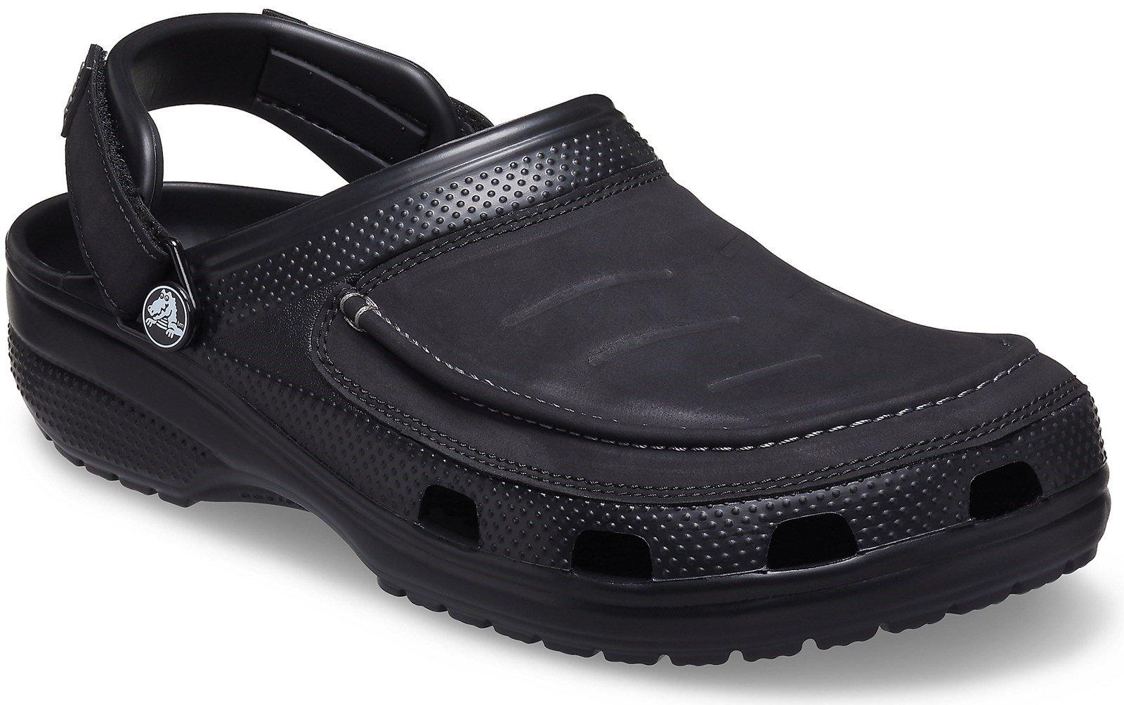 Crocs Men's Yukon Vista II Beach Flip Flop Various Colours 31867 - Black 6