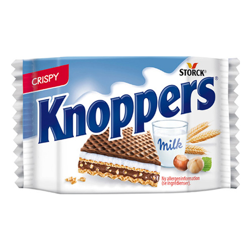 Knoppers Wafers - 25 gram