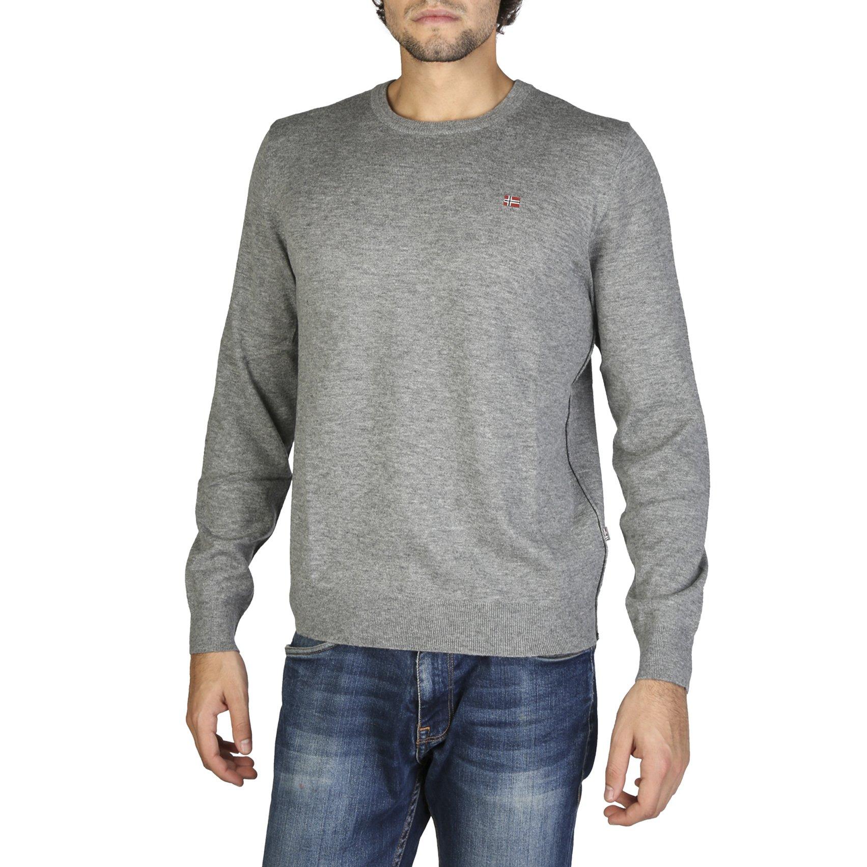 Napapijri Men's Sweater Various Colours DAMAVAND_N0YGPB - grey S