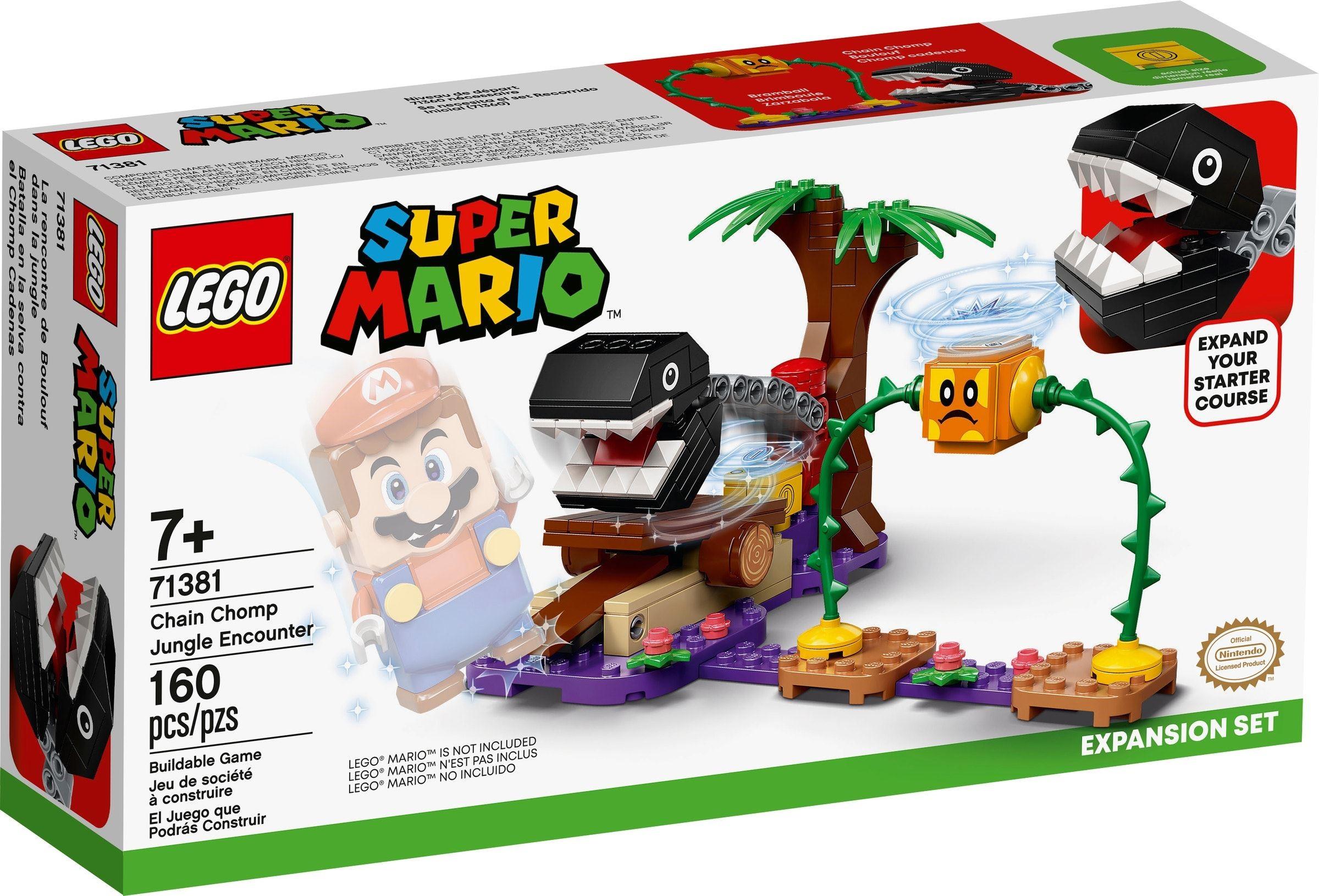 LEGO Super Mario - Chain Chomp Jungle Encounter Expansion Set (71381)