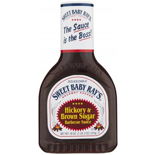 "Barbecuekastike ""Hickory & Brown Sugar"" 510g - 64% alennus"