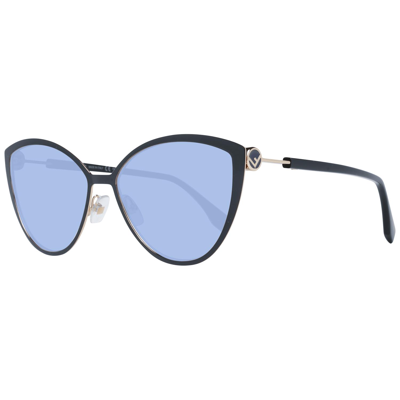 Fendi Women's Sunglasses Black FF0413/S 602M2