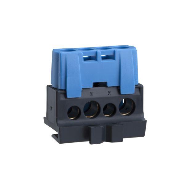Schneider Electric IMT34005 Splint 2 x 16 mm² + 2 x 10 mm² Blå