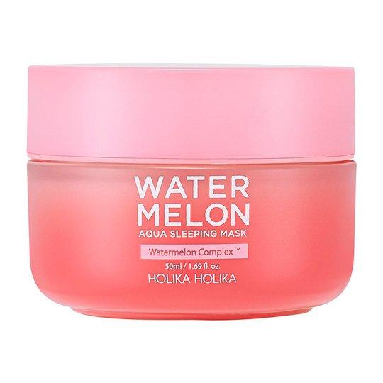 Watermelon Aqua Sleeping Mask, 50 ml Holika Holika Kasvojen puhdistus