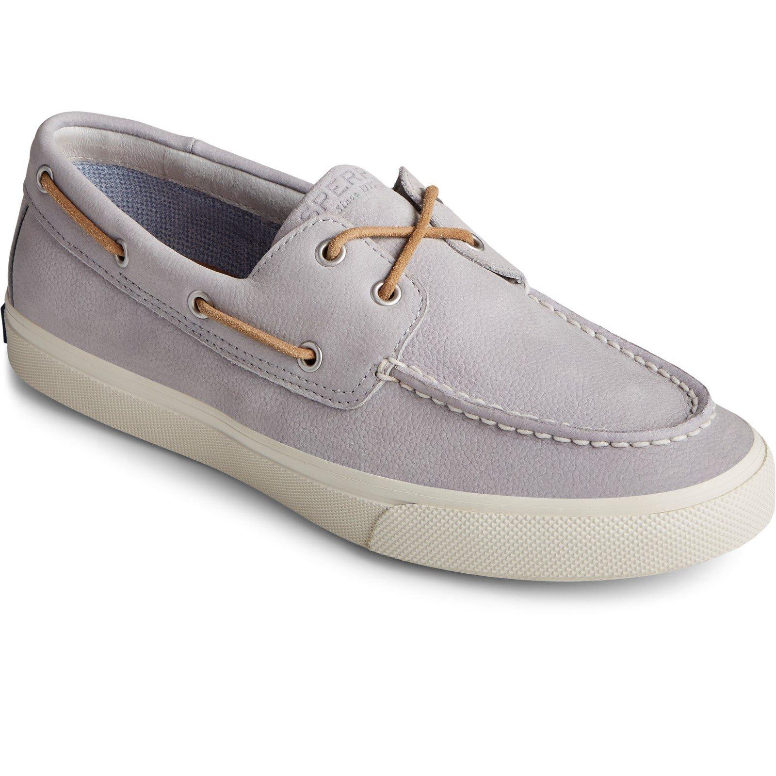 Sperry Men's Bahama Plushwave Boat Shoe Grey 32925 - Grey 12