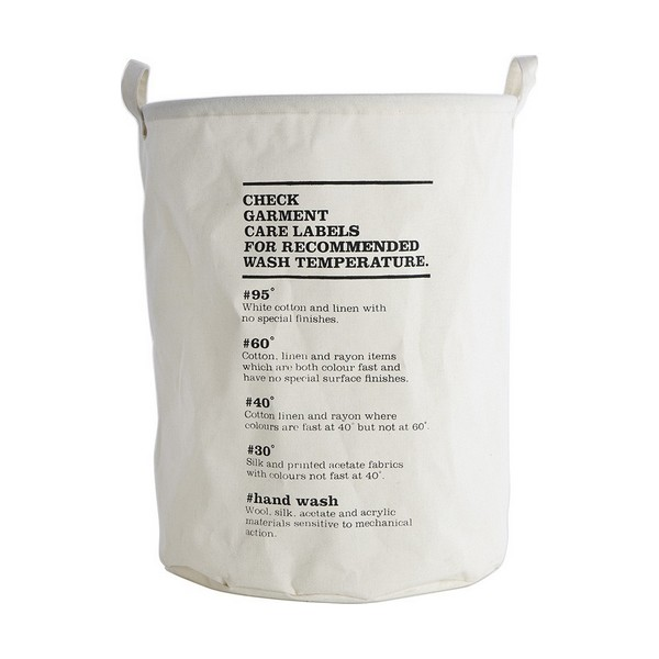 House Doctor - Laundry Bag Wash Instructions (ls0123)
