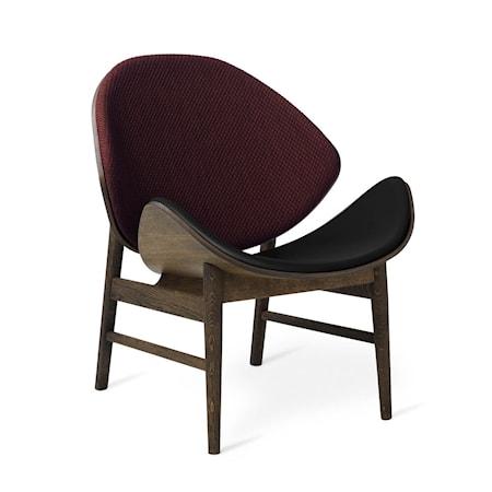 The Orange Lounge Chair Dark bordeaux/Black Smoked Ek