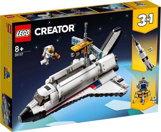 LEGO Creator 3-in-1 31117 Romfergeeventyr