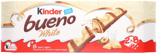 Kinder Bueno White - 51% rabatt