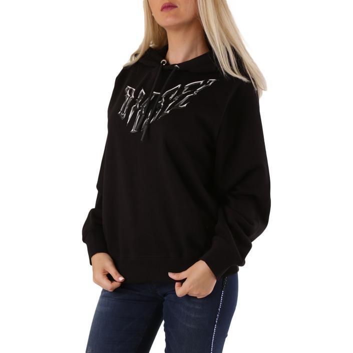Diesel Women's Sweatshirt Black 312551 - black S
