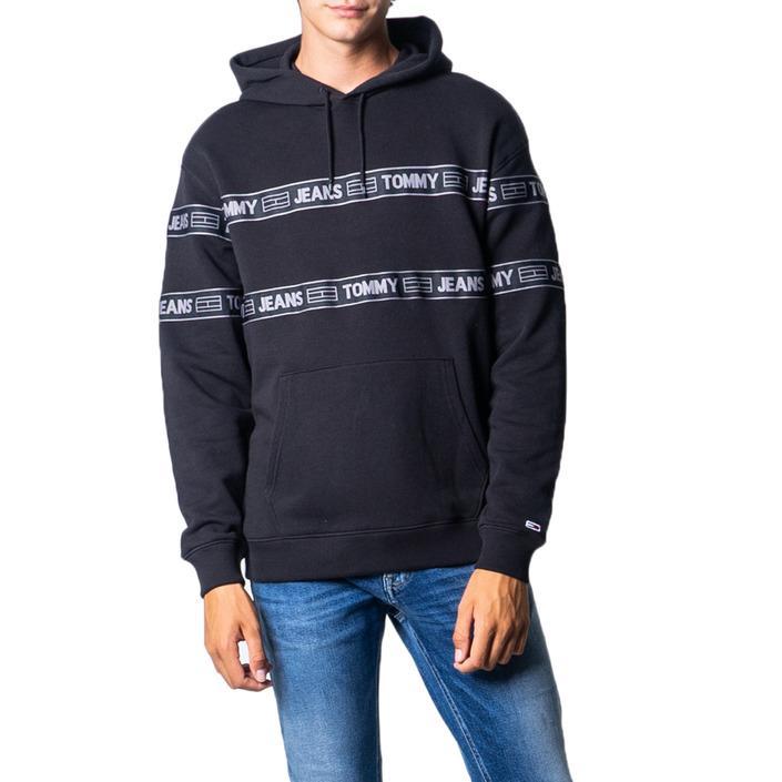 Tommy Hilfiger Men's Sweatshirt Black 177275 - black XS