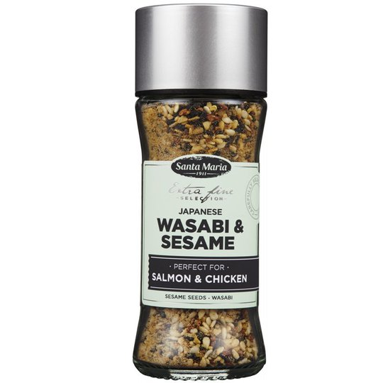 "Mausteseos ""Wasabi & Sesame"" 48g - 45% alennus"