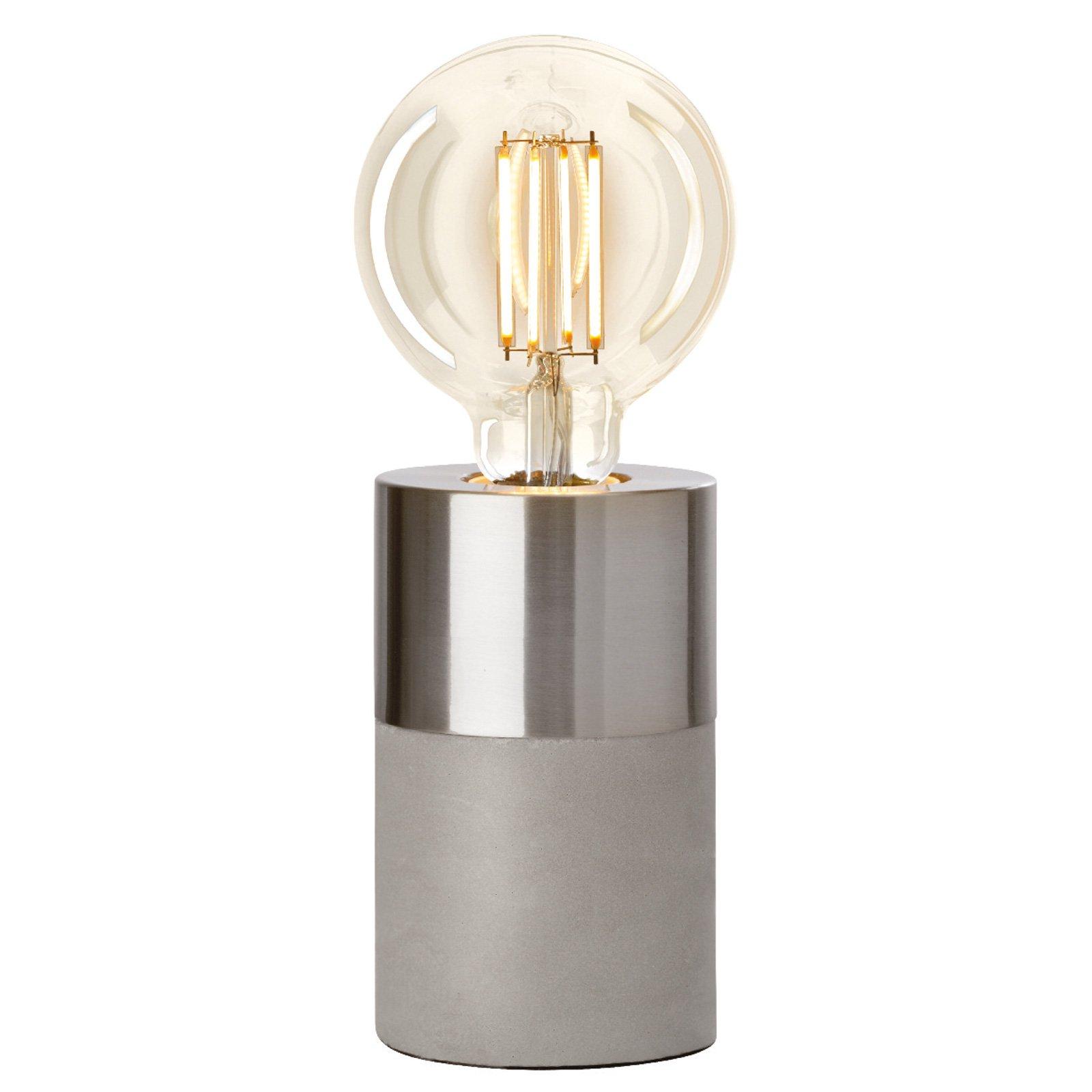 Villeroy & Boch Athens bordlampe i kromoptikk