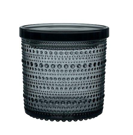 Kastehelmi boks 116x114 mm Mørkegrå