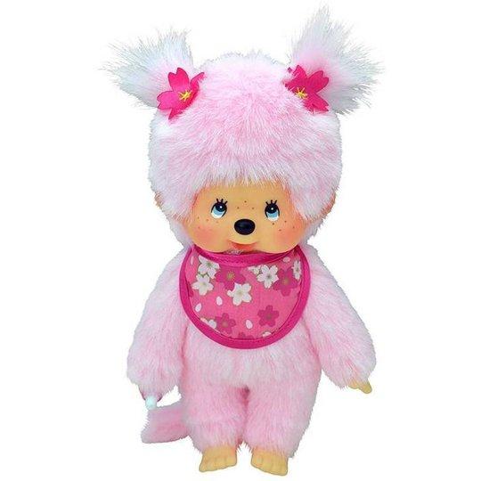 Monchhichi Pink Sakura Girl 20 cm